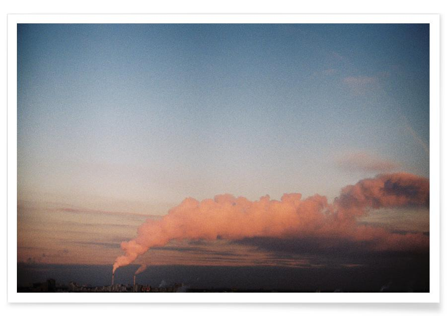 Ciels & nuages, Couchers de soleil, Cotton Candy affiche