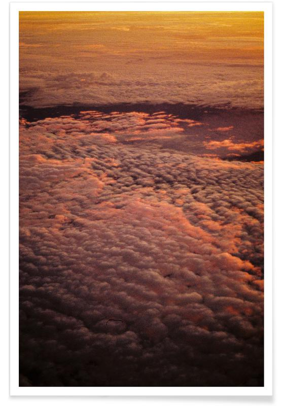 Skies & Clouds, Sunsets, Ombre Poster
