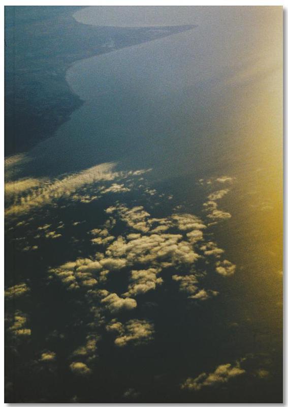 Ciels & nuages, Couchers de soleil, Over the Ocean Notebook