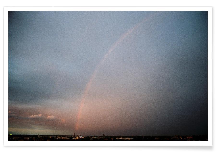 Skies & Clouds, Rainbow Poster
