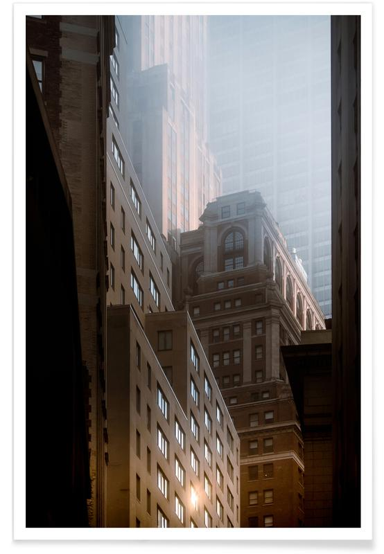Manhattan Morning Reedit poster