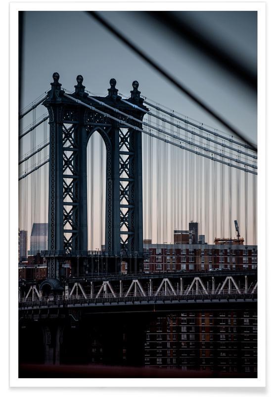 Manhattanites II Reedit Poster