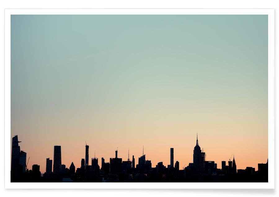 Skyline Silhouette Reedit Poster