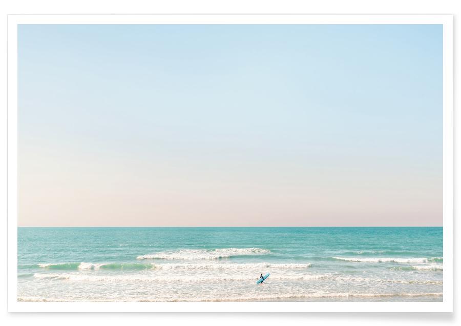 Stranden, Surfing Tel Aviv No 2 poster