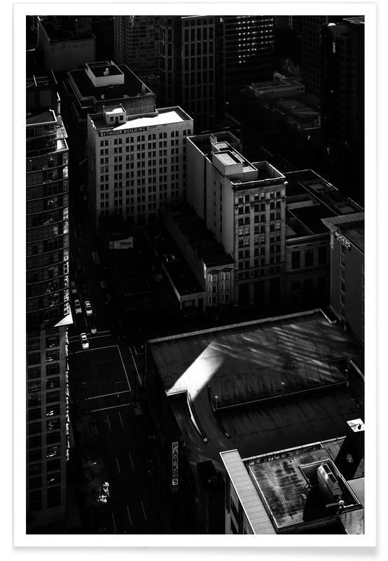 Zwart en wit, Van City Scene No 2 poster