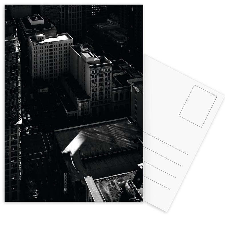 Zwart en wit, Van City Scene No 2 ansichtkaartenset