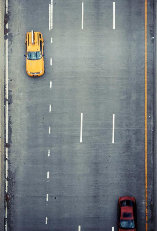 Chasing Cars -Acrylglasbild