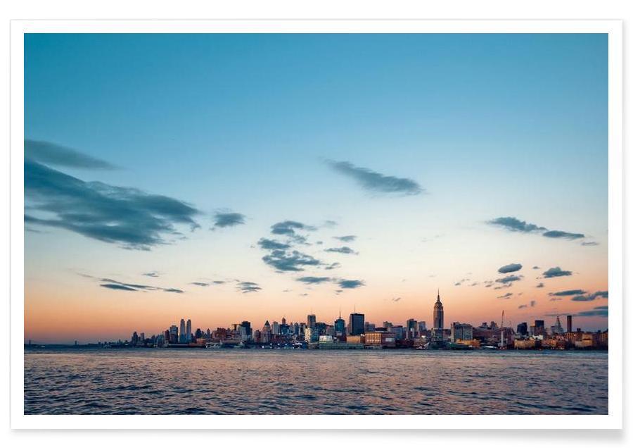 New York, Horisonter, Silver Lining Plakat