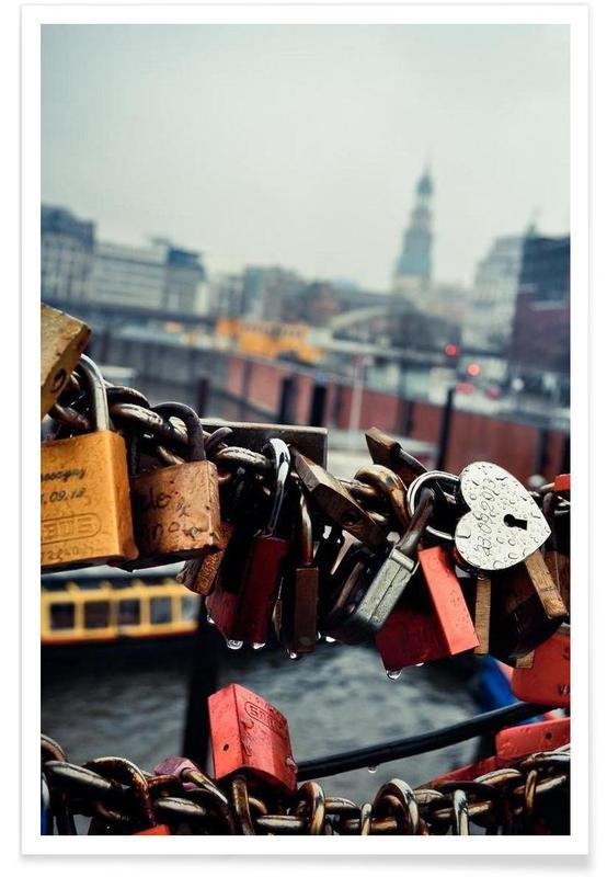 Amsterdam, Détails architecturaux, Love Locked affiche