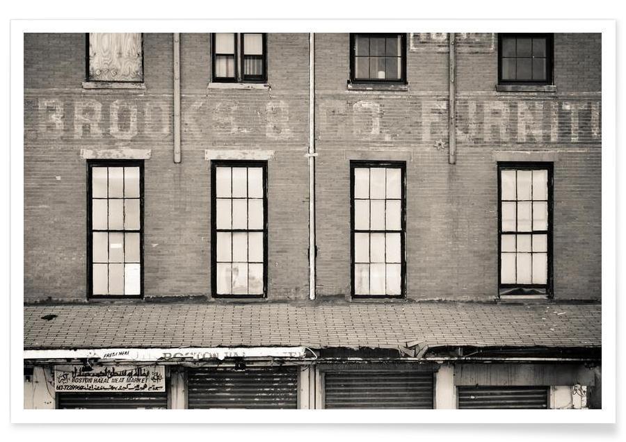 Détails architecturaux, Brooks & Company affiche