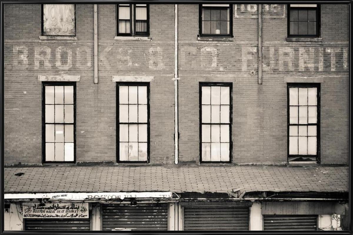 Brooks & Company affiche encadrée