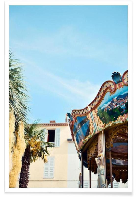 Architectonische details, Antique Antibes poster