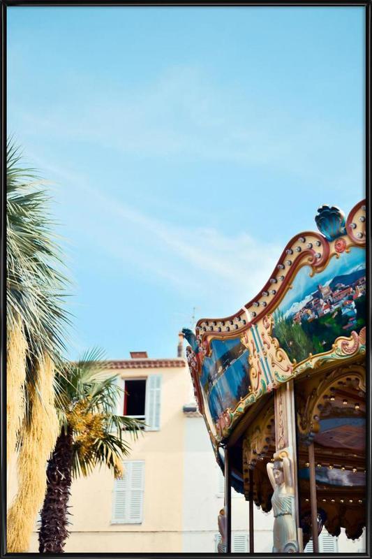 Antique Antibes affiche encadrée