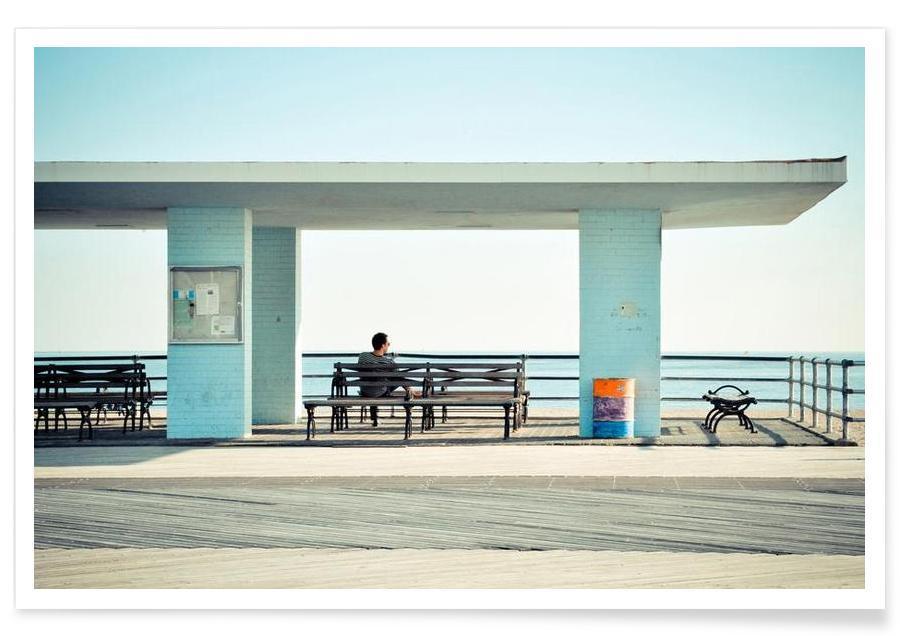 Détails architecturaux, Coney Island  affiche