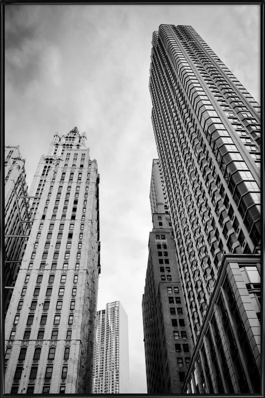 Barclay Street -Bild mit Kunststoffrahmen