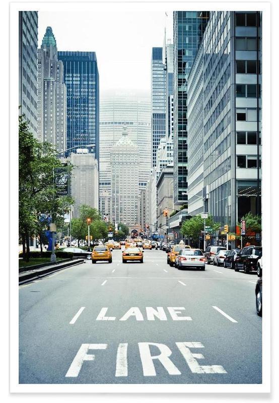 New York, Fire Lane affiche