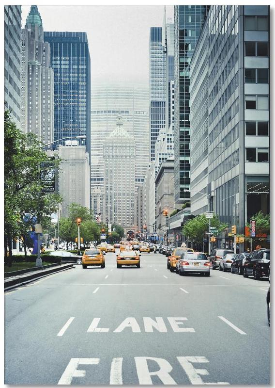 New York, Fire Lane bloc-notes