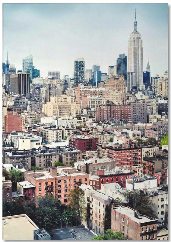 New York, Street View bloc-notes