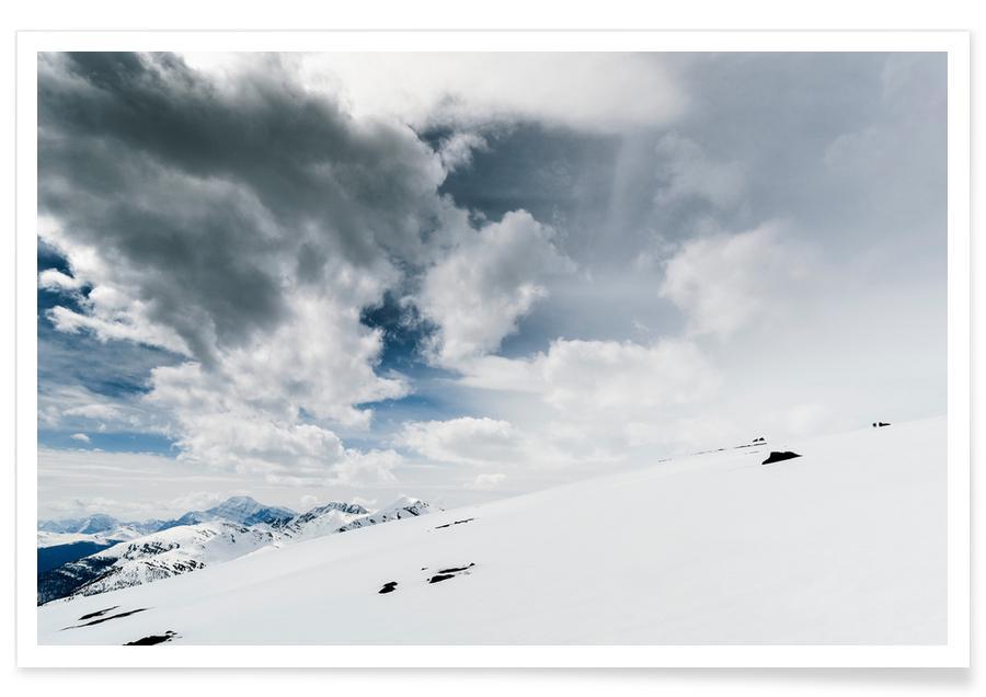 Montagnes, Ski & snowboard, The White Open affiche