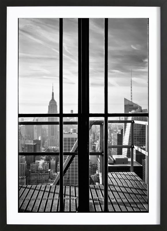 Window To The World ingelijste print