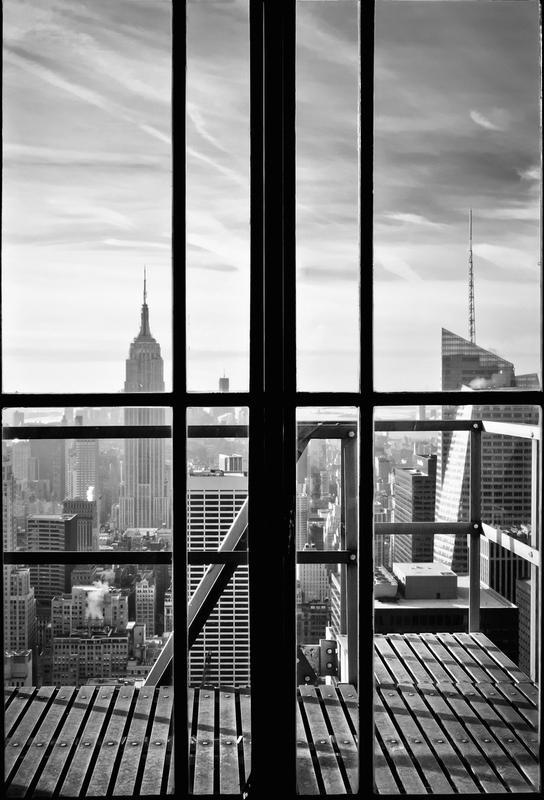 Window To The World -Alubild