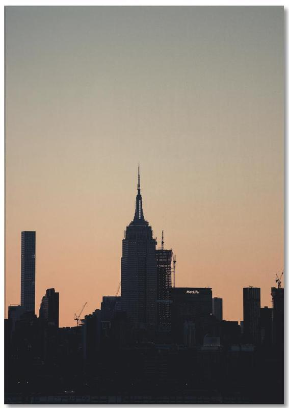 New York, Monuments et vues, Empire State Silhouette bloc-notes