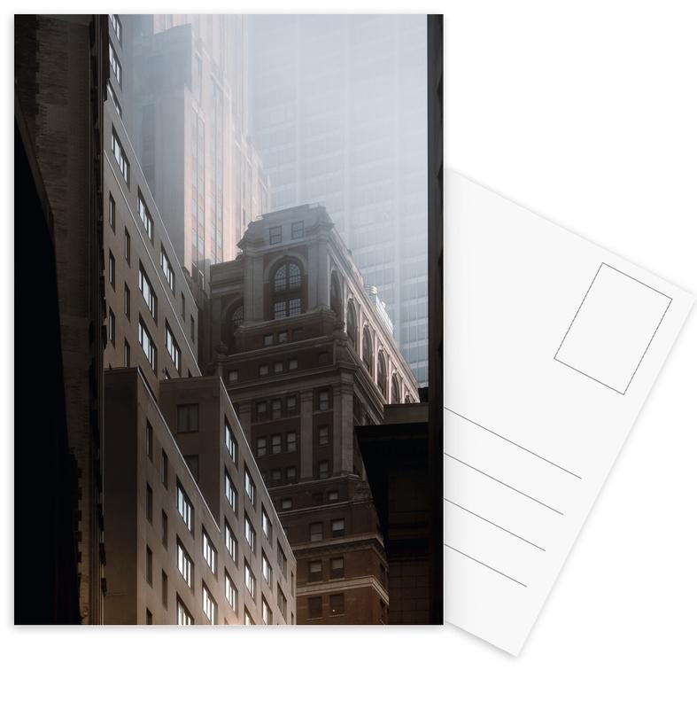New York, Wolkenkrabbers, Manhattan Morning ansichtkaartenset