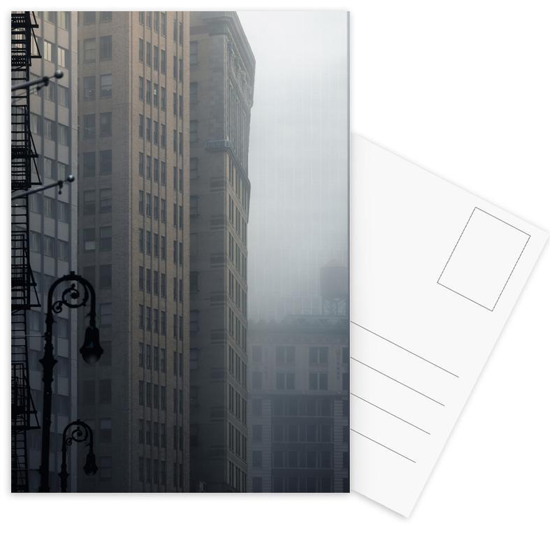 New York, Wolkenkrabbers, Pearl Street ansichtkaartenset
