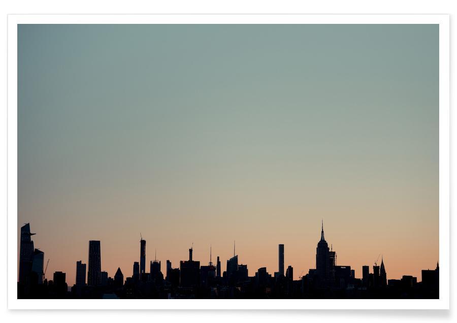 Skyline Silhouette poster