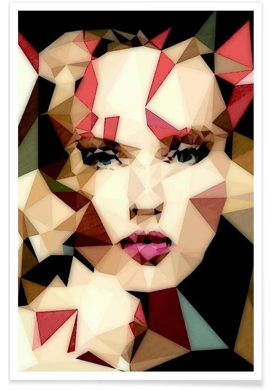Portraits, Bohemian Girl affiche