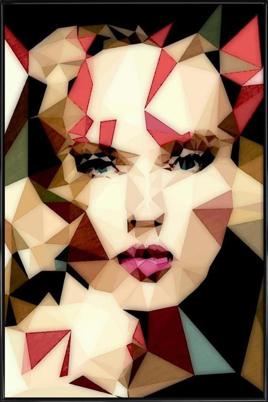 Bohemian Girl Framed Poster