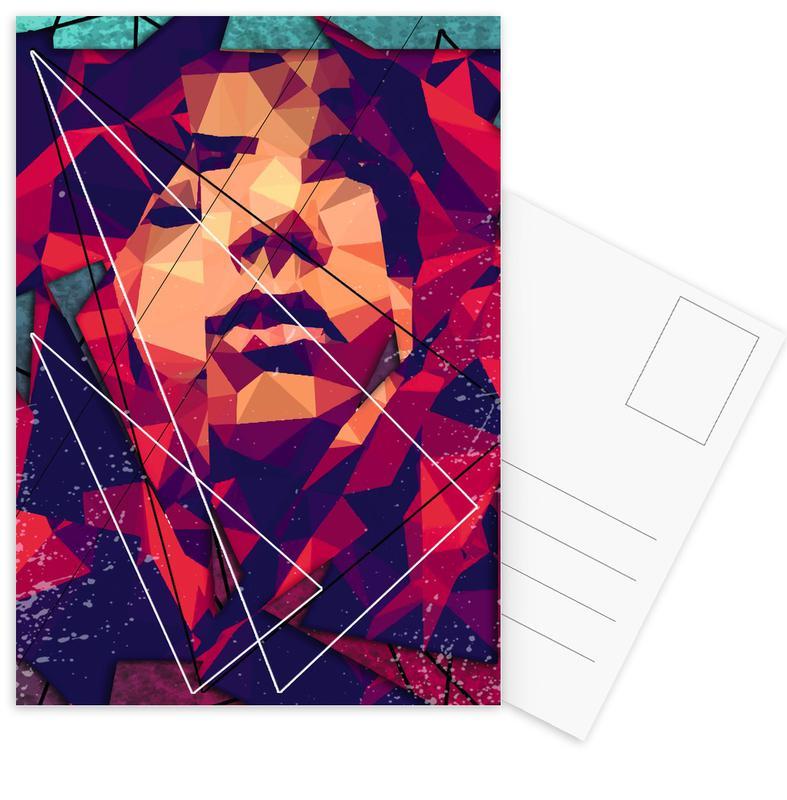 Porträts, Enhance -Postkartenset