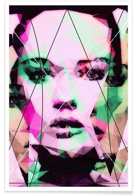 Portraits, Neutral Line affiche