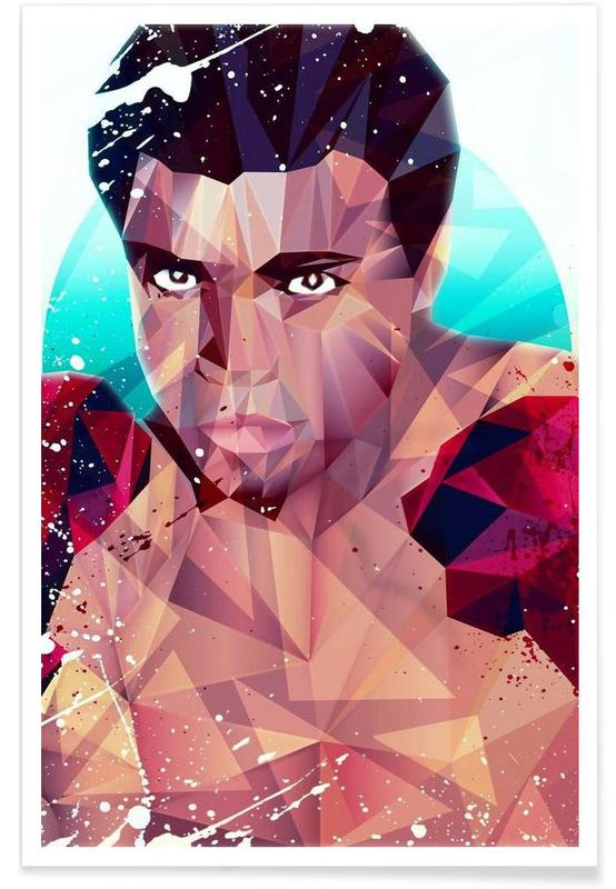 Boxe, Mohamed Ali, Courageous Ali affiche