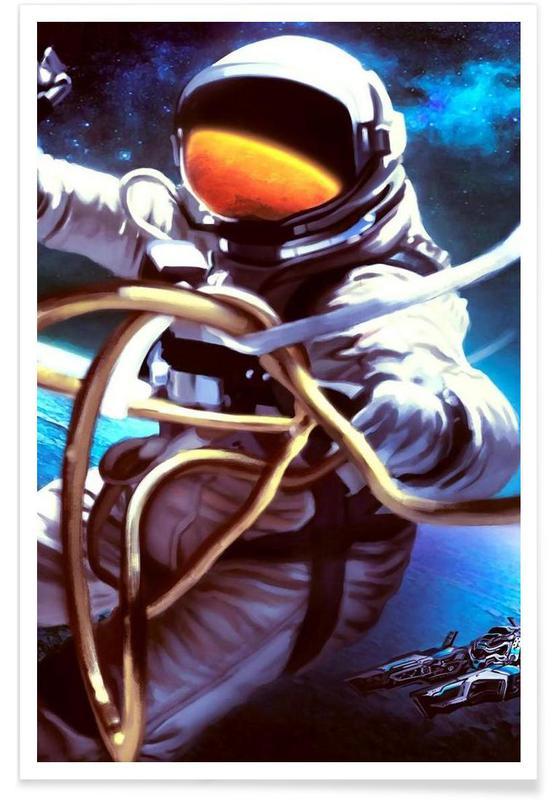 Astronautes, Galaxy Road affiche