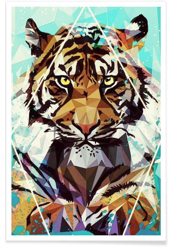 It Tiger Poster