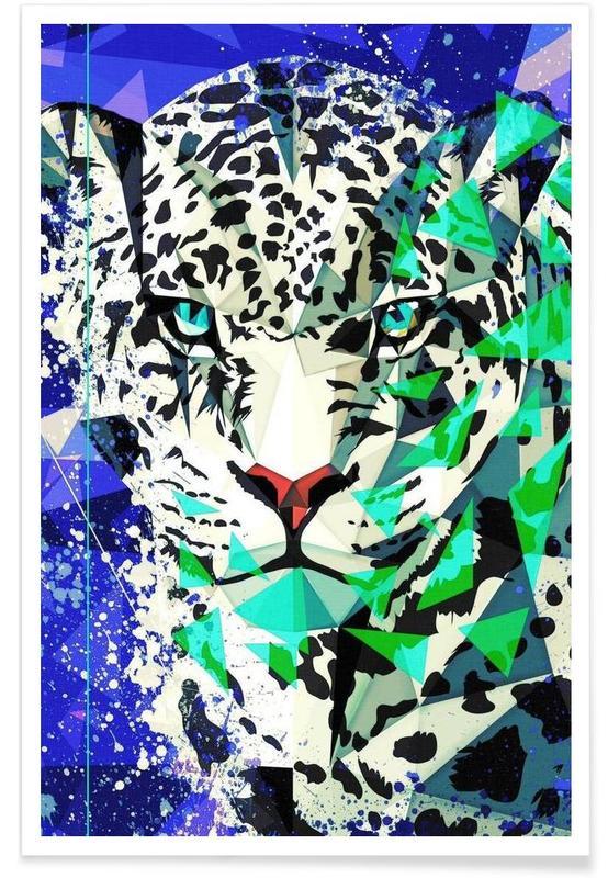 Jaguars, Art pour enfants, Jagwarod affiche