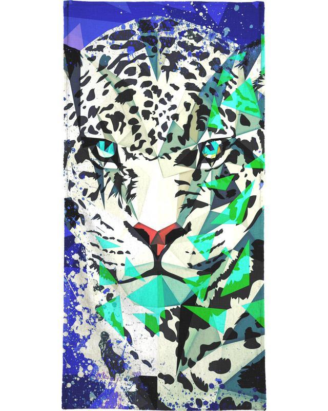 Jaguare, Kinderzimmer & Kunst für Kinder, Jagwarod -Handtuch