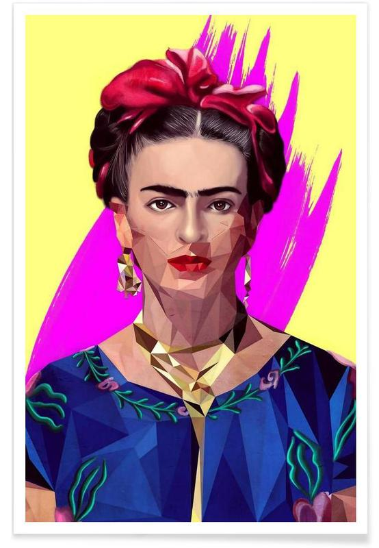 Frida Kahlo, Modern Frida -Poster