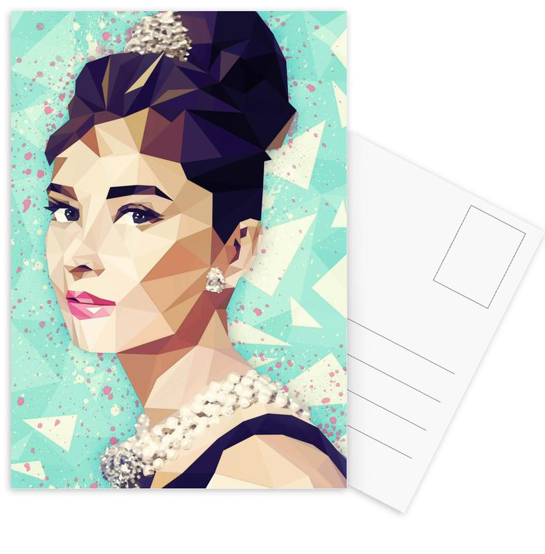 The Hepburn Class Postcard Set