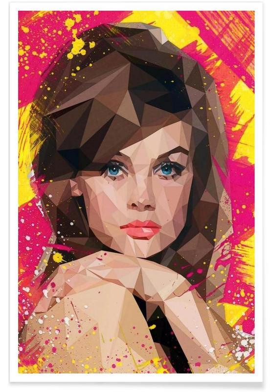Porträts, Vogues Muse -Poster