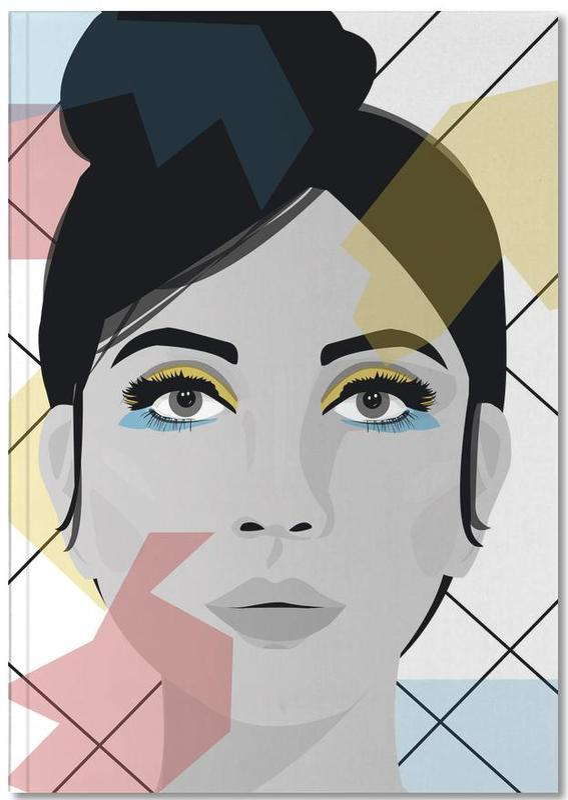 Porträts, Colour on my face Notebook