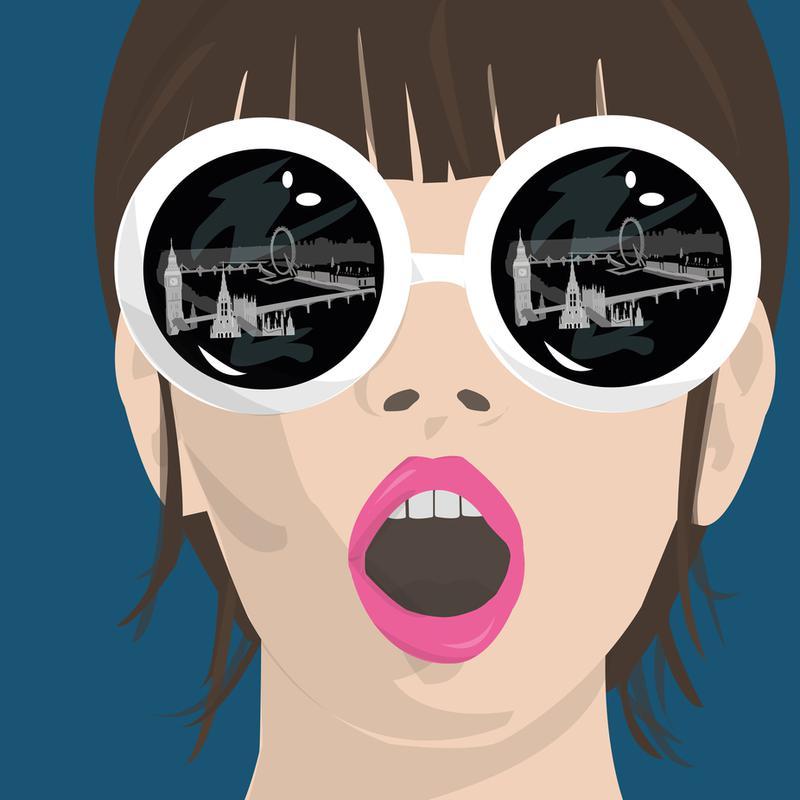 My eyes on London Acrylic Print