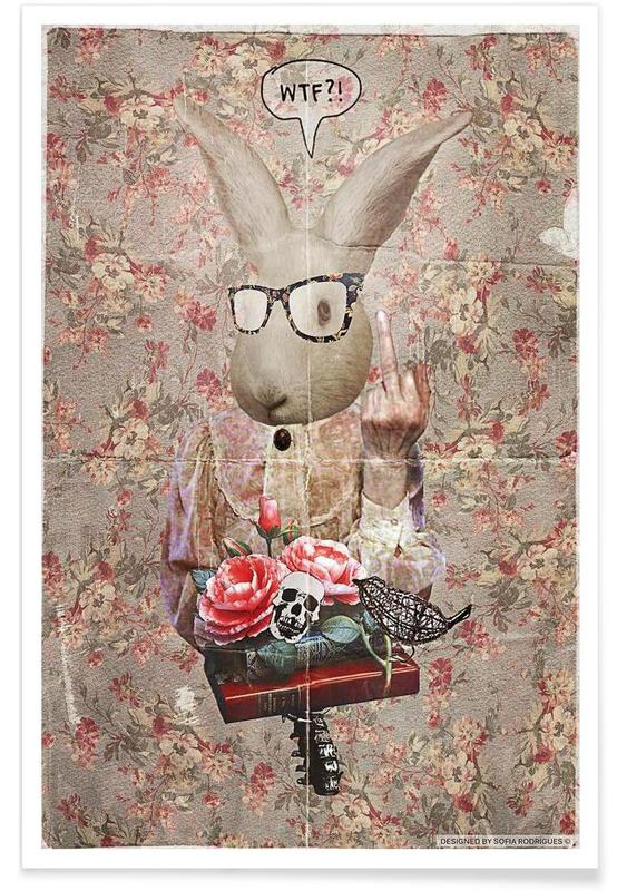 Humour, Lapins, Lady Bunny WTF affiche