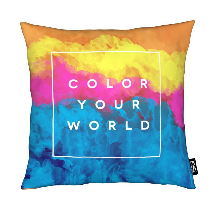 Citations et slogans, Color Your World coussin