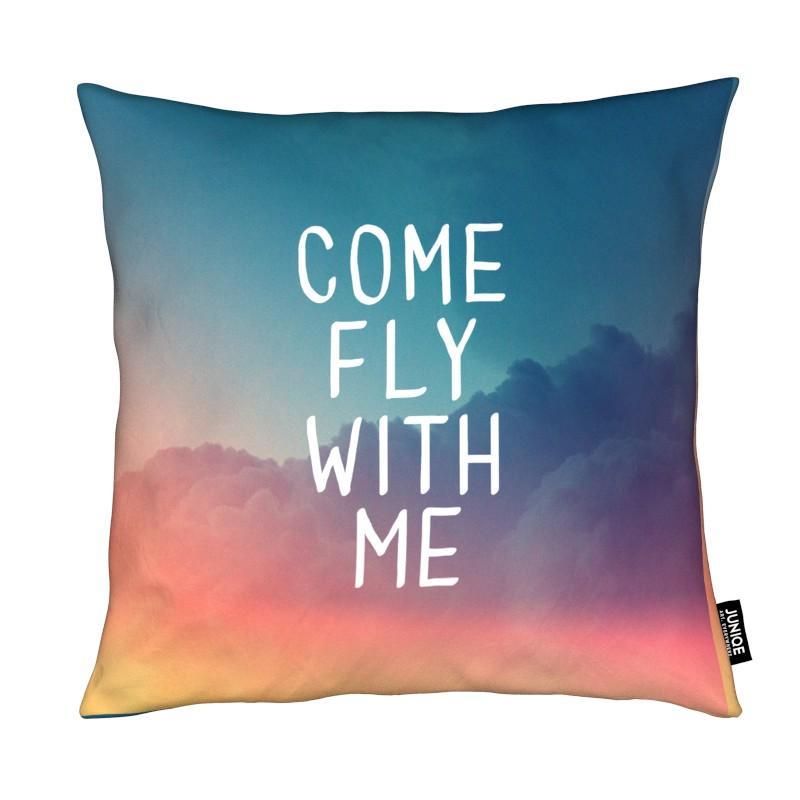Motivation, Citations et slogans, Ciels & nuages, Come Fly with Me coussin