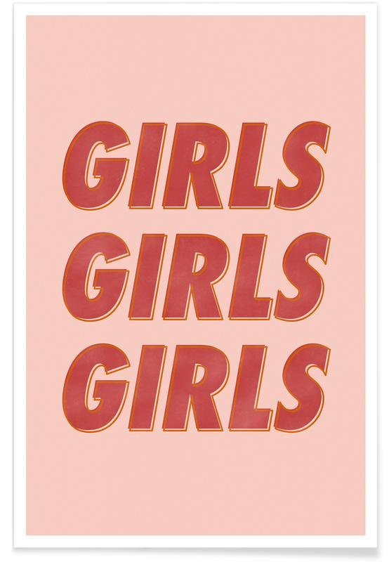 Motivation, Citations et slogans, Girls Red affiche