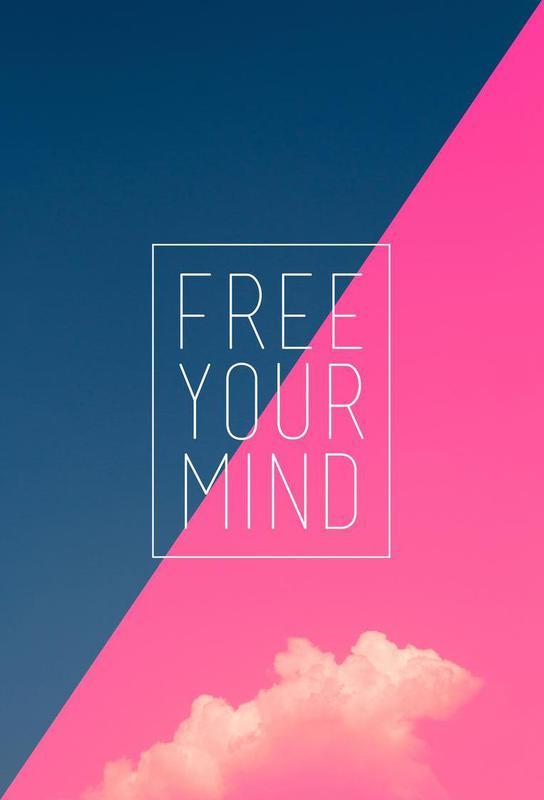 Free Your Mind III acrylglas print