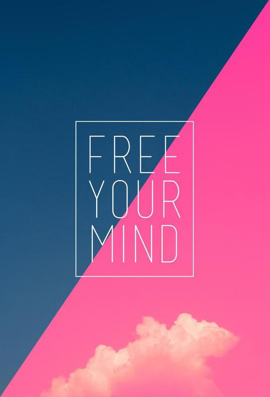 Free Your Mind III alu dibond