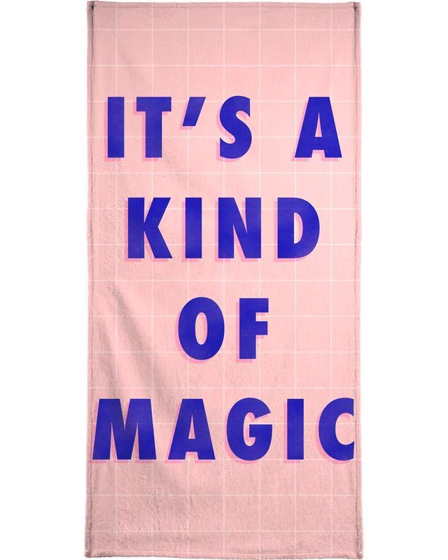 Songtexte, Motivation, Zitate & Slogans, Kind of Magic -Handtuch